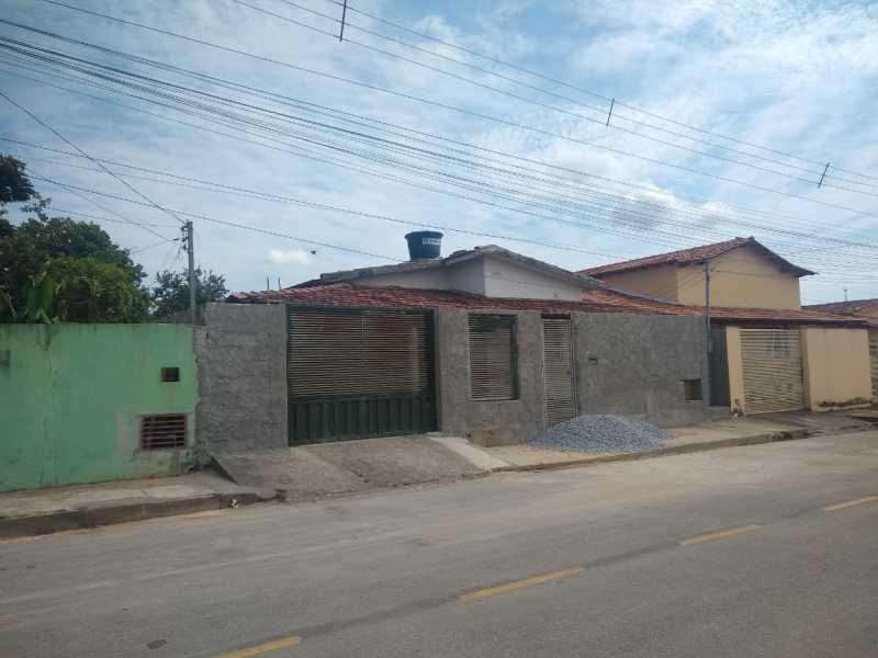 PA69720 - Bom Despacho/MG – Casa com 02 quartos e varanda - Lance Inicial: R$150.302,26- Avaliação: R$150.302,26