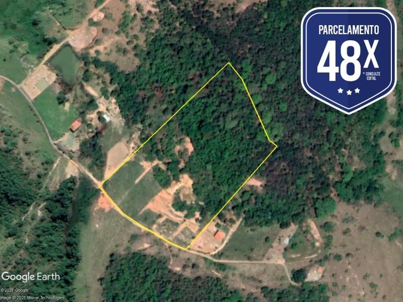 PA69838 - Caratinga/MG - Terreno rural com 03.96,71 hectares - Lance Inicial: R$150.000,00- Avaliação: R$150.000,00
